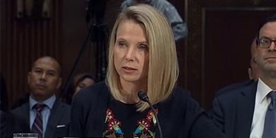 Marissa Mayer pide perdón por los hackeos a Yahoo: